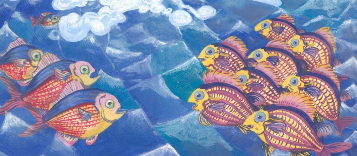 Bildausschnitt Fische